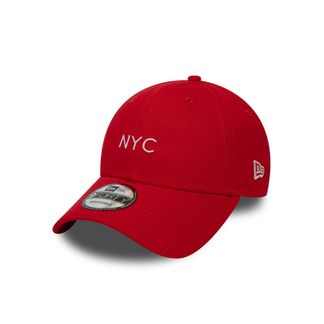 Casquette New Era NYC - Rouge