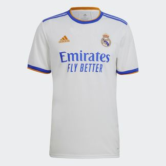 Maillot Real Madrid Domicile 2021/2022 - Blanc