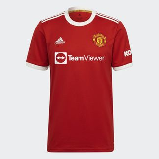 Maillot Manchester United Domicile 2021/2022 - Rouge