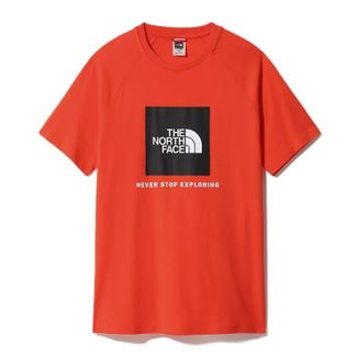 T-shirt The North Face Redbox - Rouge