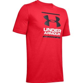 T-shirt Under Armour GL Foundation - Rouge